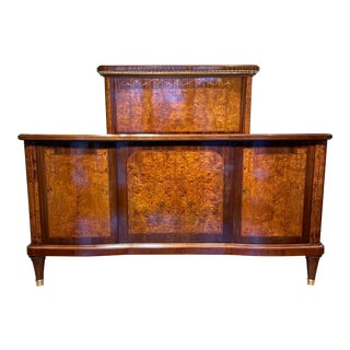 19th Century French Empire Bed For Sale