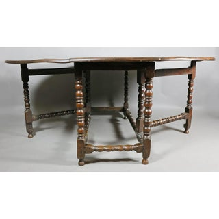 Large Jacobean Oak Gateleg Table Preview