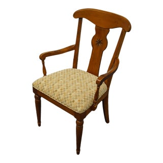 Ethan Allen Country Crossings Dining Arm Chair For Sale