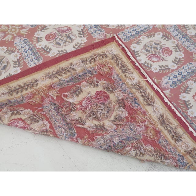 1980s Aubusson Room Size Rug - 8' X 12' For Sale - Image 9 of 13
