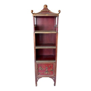 Antique Chinese Pagoda Curio For Sale