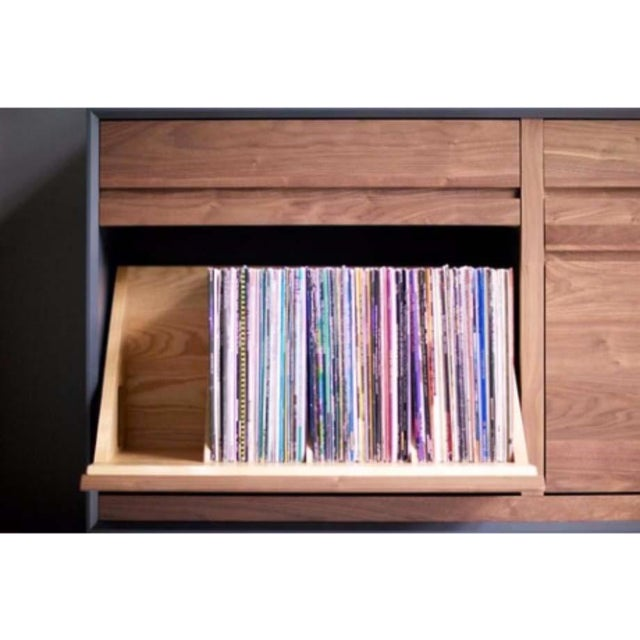 Mid-Century Modern CD Cabinet by Symbol Audio - Image 9 of 11