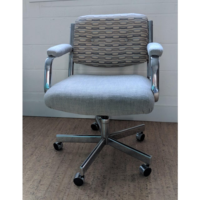 Contemporary Executive Office Chair - by Chromcraft For Sale - Image 3 of 11
