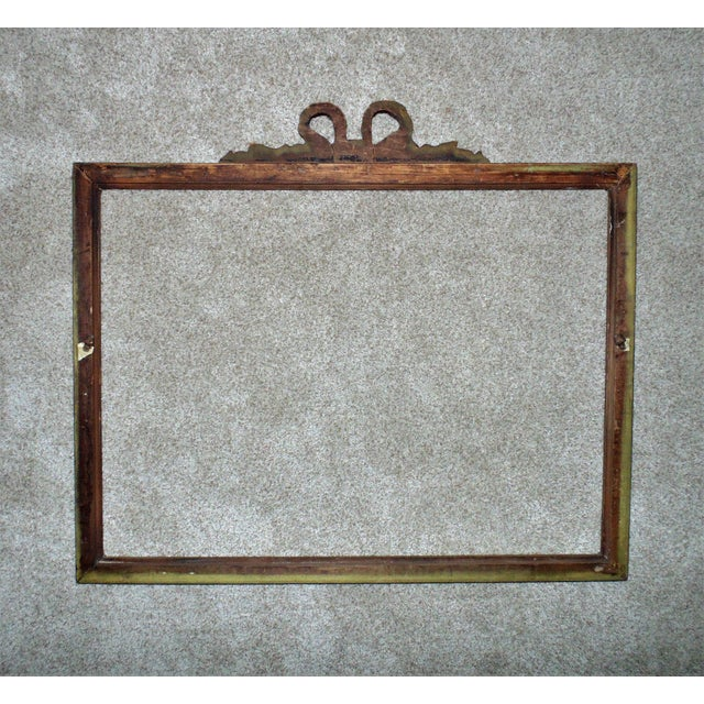 19th Century Victorian Picture Frame For Sale - Image 4 of 5