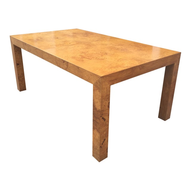 Figurative Milo Baughman Burl Parsons Table For Sale - Image 3 of 10