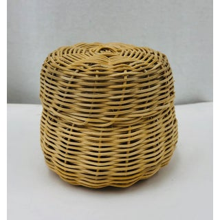 Vintage Woven Wicker Box Preview