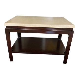 1950s Paul Frankl Cork Top End Table For Sale