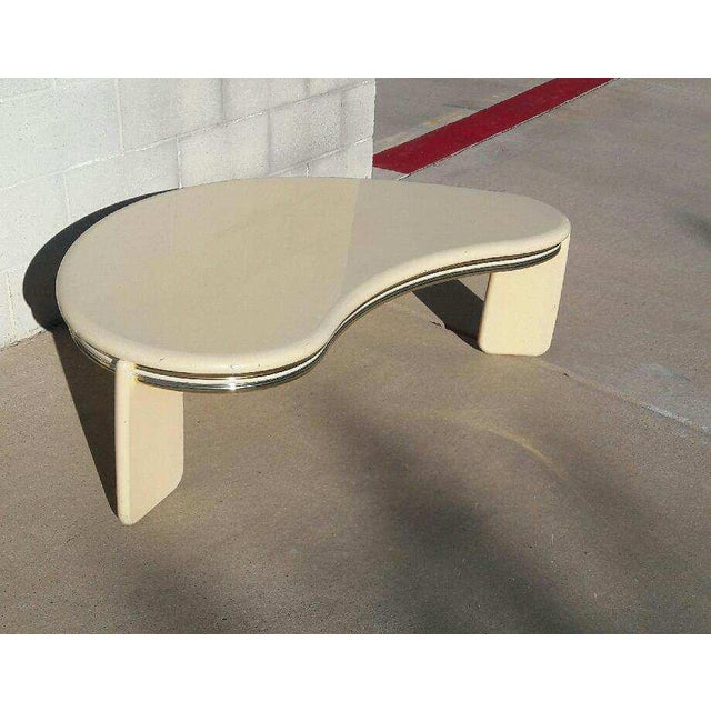 Vintage Institute of Design Biomorphic Coffee Table - Image 4 of 6