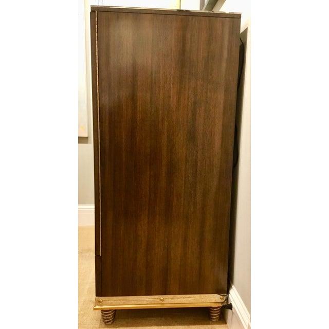 Modern Modern Henredon Bihuber Barclays St. Bar Cabinet For Sale - Image 3 of 10