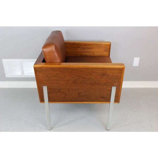 """Harvey Probber Architectural Series """"Cube"""" Chair For Sale - Image 5 of 9"""