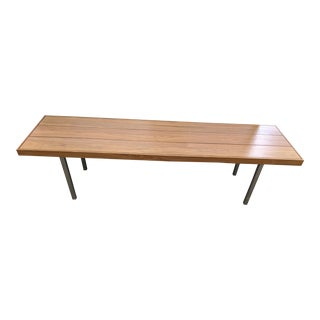 Room and Board Walnut Coffee Table For Sale