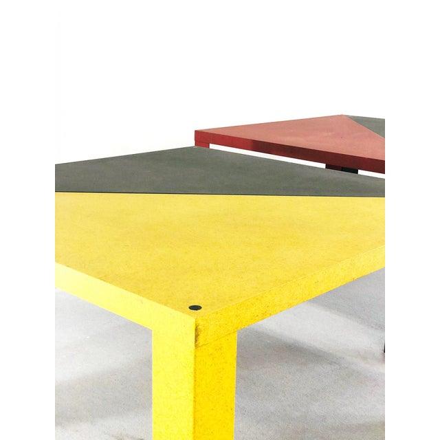 Mid-Century Modern Massimo Morozzi - Cassina Tangram Table Morozzi Cassina For Sale - Image 3 of 4