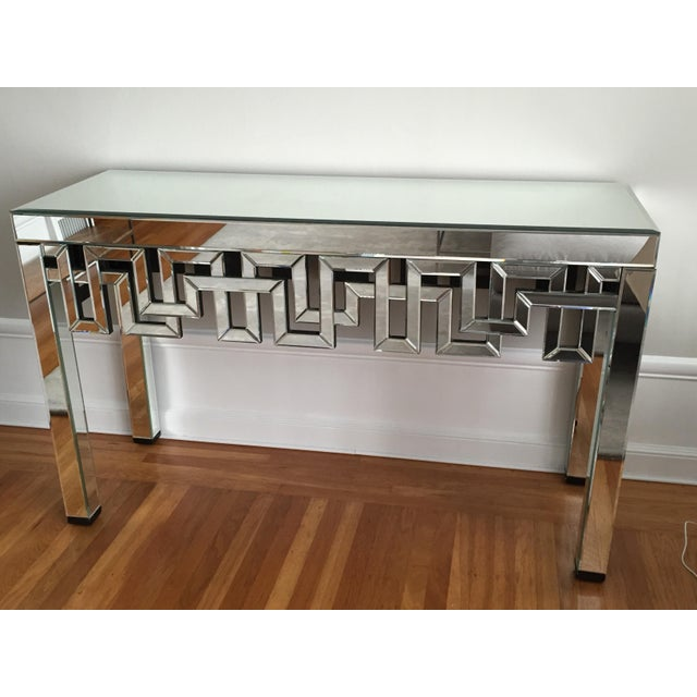 Mirrored Designer Console Table - Image 2 of 7