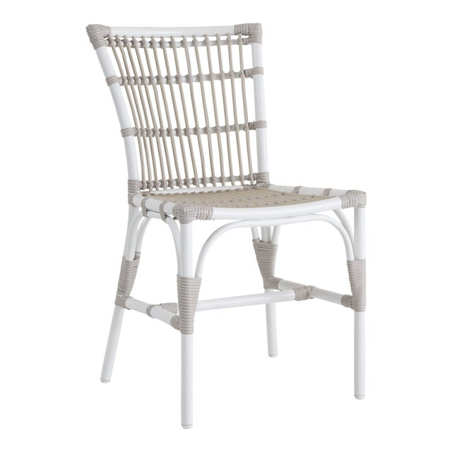 Elisabeth Exterior Side Chair - Dove White For Sale