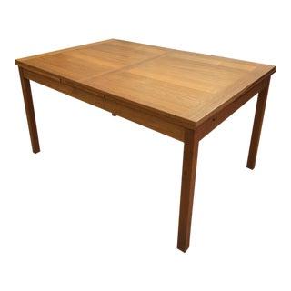 Danish Modern Teak Expanding Table