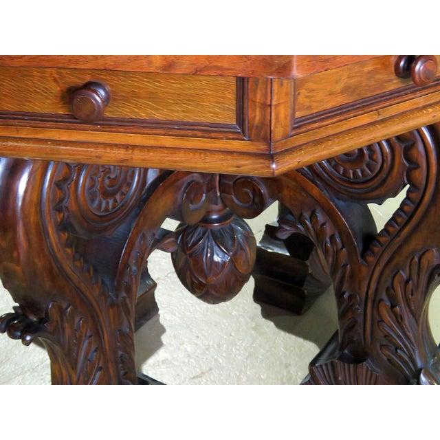 Renaissance Style Center Table For Sale In Philadelphia - Image 6 of 7