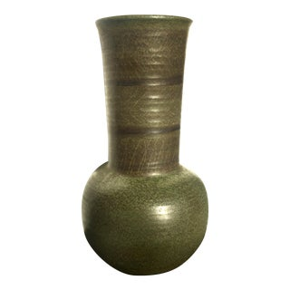 Marcel Guillot French Studio Pottery Vase For Sale