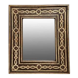 Moroccan Conte Rectangular Mirror For Sale