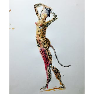 Leopard Lady by Gretchen Kelly For Sale