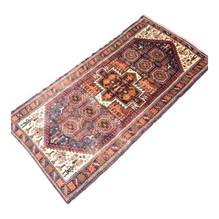 Hand Knotted Persian Baluch Rug - 3′3″ × 6′10″ For Sale