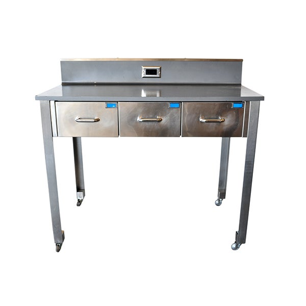 Medical Workbench with 3 Drawers - Image 1 of 6