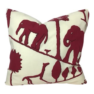 """Contemporary 20""""x20"""" Pillow by Clarence House For Sale"""
