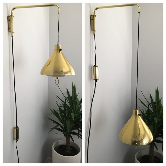 Lightolier Gerald Thurston Up/Down Swing Lamp - Image 6 of 11