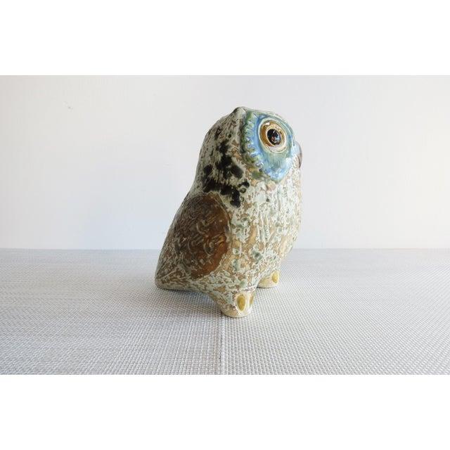 Arts & Crafts Antonio Ballester A Lladró Little Eagle Owl Figurine For Sale - Image 3 of 10