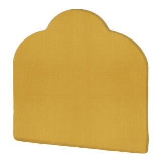 The Crown Headboard - Queen - Kate - Italian Blend, Lemongrass For Sale