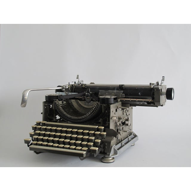"1920s 1920s ""Blind"" Writing Style Typewriter For Sale - Image 5 of 5"