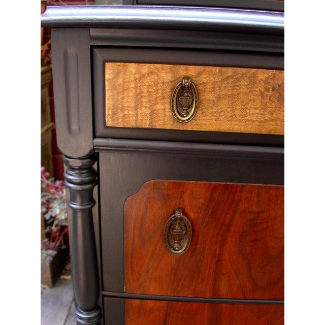 National Furniture Company Heirloom Walnut Highboy Dresser For Sale In San Francisco - Image 6 of 11