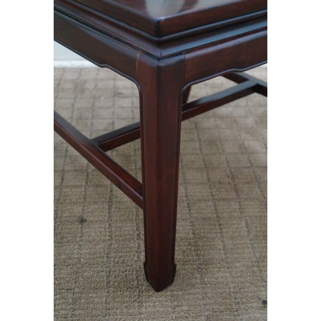 Chinese Rosewood Dining Chairs - Set of 4 - Image 6 of 10