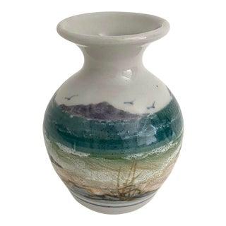 Scottish Stoneware Seaside Vase