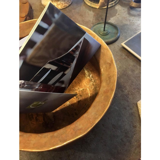 Hammered Copper Pot with Handle - Image 5 of 5
