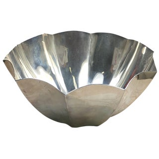 Tiffany Sterling Silver Protea Bowl