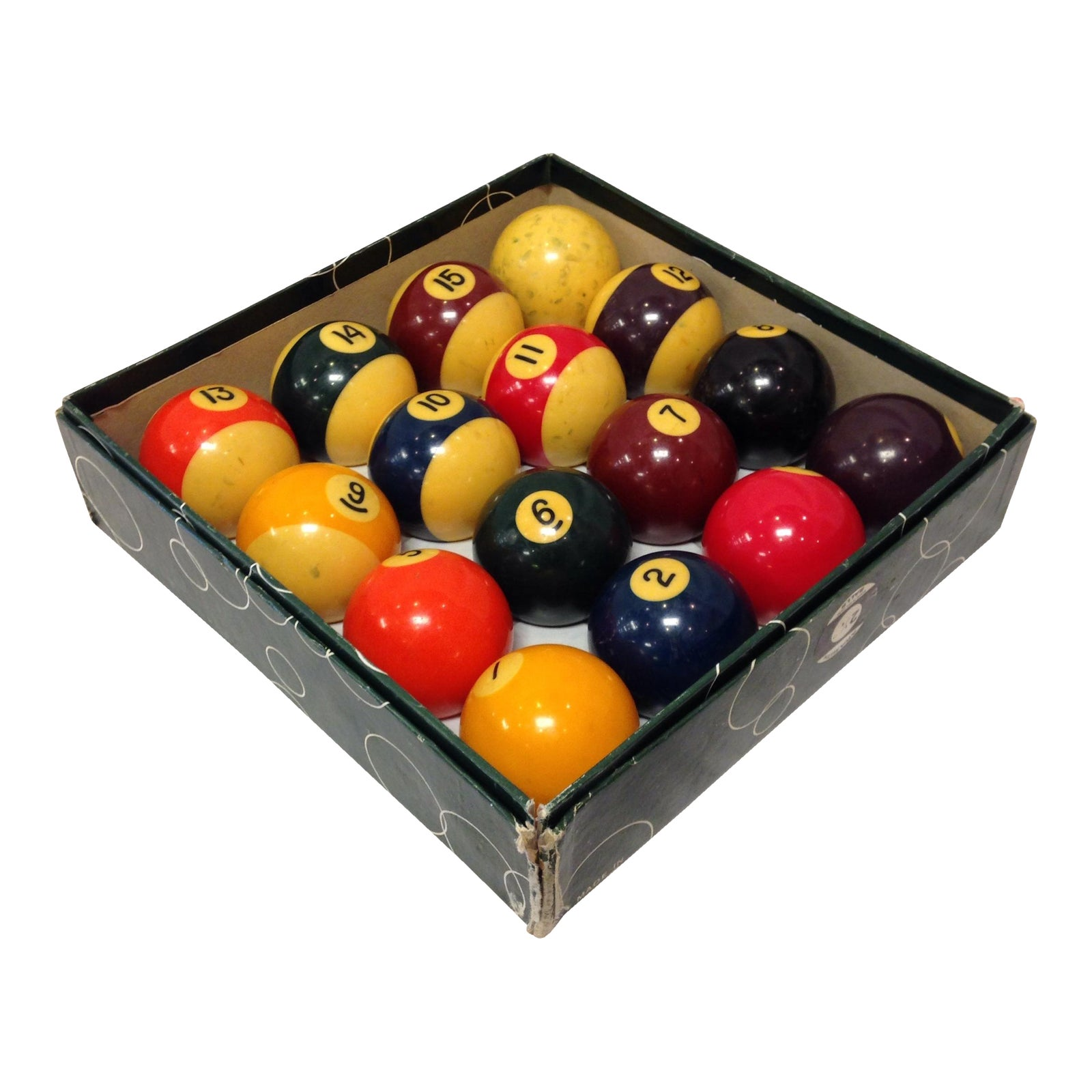 Vintage Belgian Aramith Billiard Pool Balls Chairish