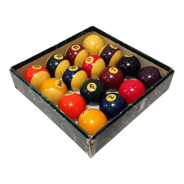 Vintage Belgian Aramith Billiard Pool Balls - Image 1 of 6