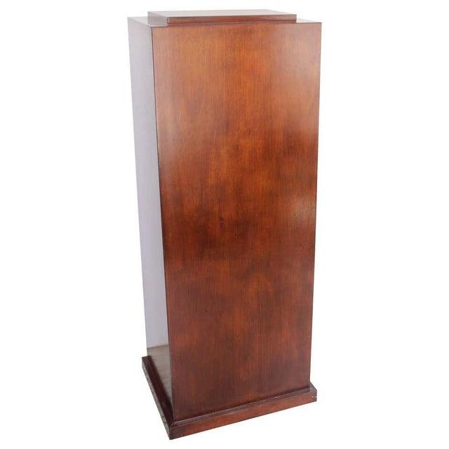 Vintage Mahogany Pedestal For Sale - Image 13 of 13