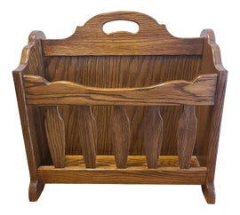 Image of Rustic Magazine Racks