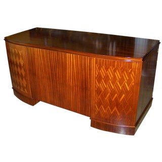 1940s French Art Deco Style Desk For Sale