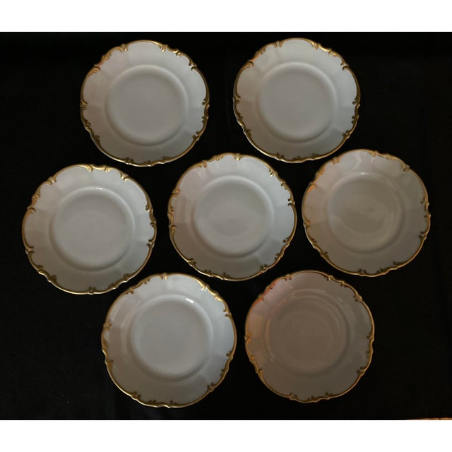 Hutscheneruther Vintage Hutschenreuther Brighton & Pasco Porcelain Bread & Butter Plates - Set of 12 For Sale - Image 4 of 13