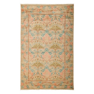 """Arts & Crafts, Hand Knotted Area Rug - 5'1"""" X 8' For Sale"""