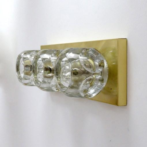Mid-Century Modern Peill & Putzler Cubic Wall Lights - A Pair For Sale - Image 3 of 10