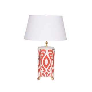 Dana Gibson Magda Lamp in Persimmon