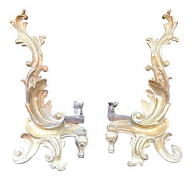 Image of Louis XV Andirons and Chenets