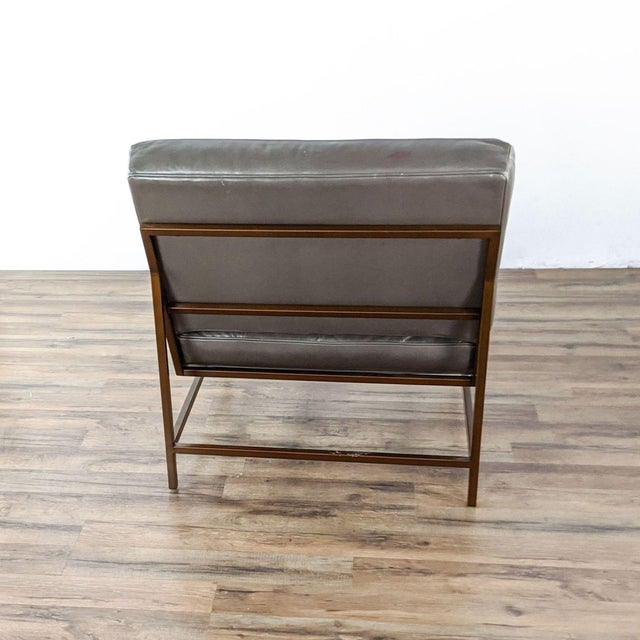 Mitchell Gold + Bob Williams Major Leather Chairs - a Pair For Sale In San Francisco - Image 6 of 13