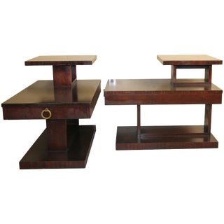 Lane Architectural Side Tables For Sale