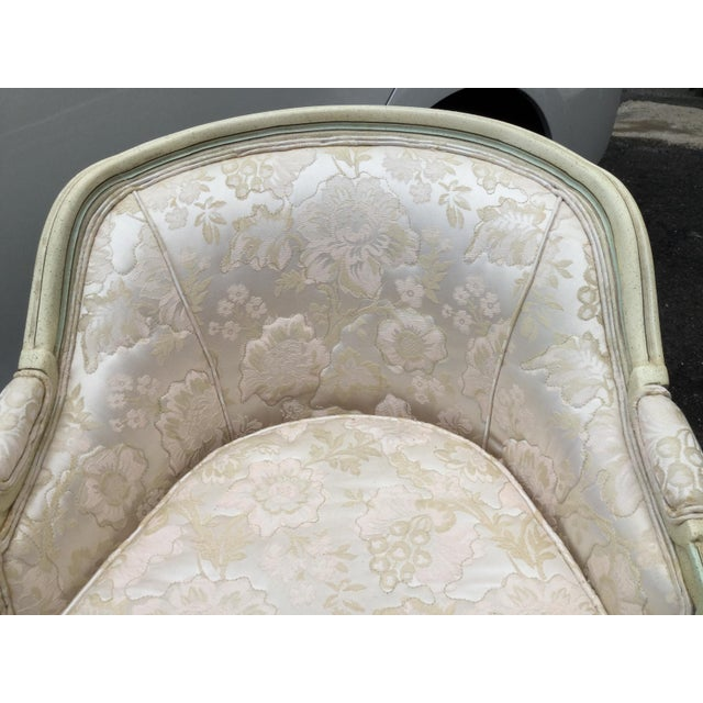 French Painted Chaise - Image 5 of 6