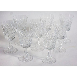 Waterford Water Goblets Kinsale Pattern - Set of 8 Preview