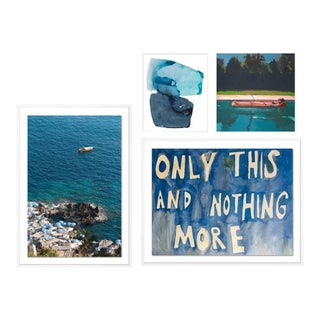 Portofino Gallery Wall, set of 4 For Sale